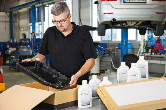 Замена масла в АКПП BMW и MINI