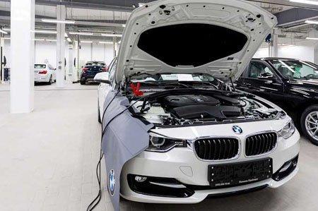 Подготовка к компьютерной диагностике BMW