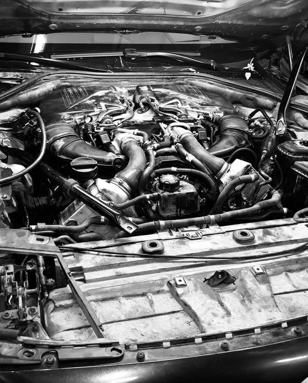 двигатель БМВ Х6
