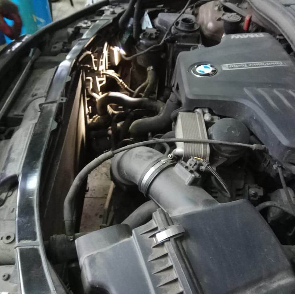 система охлаждения двигателя BMW