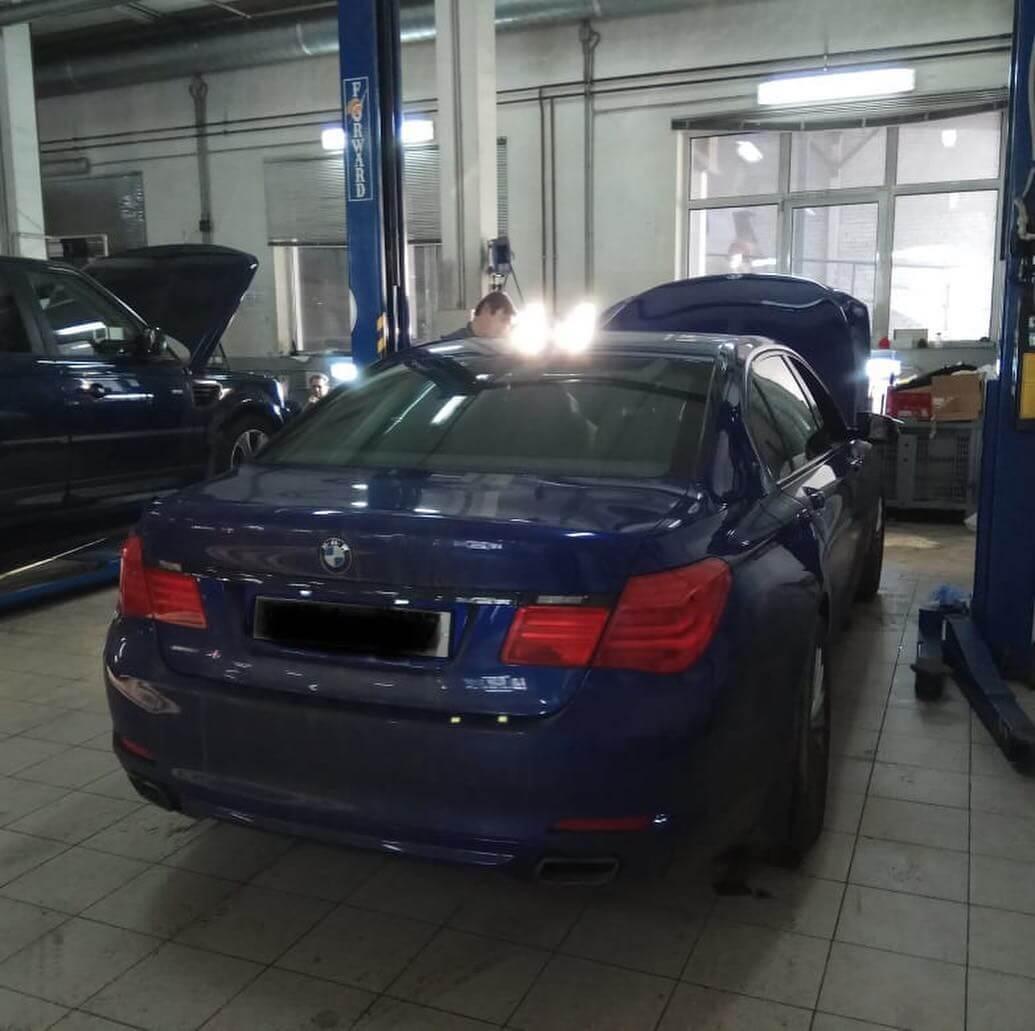 диагностика BMW 740