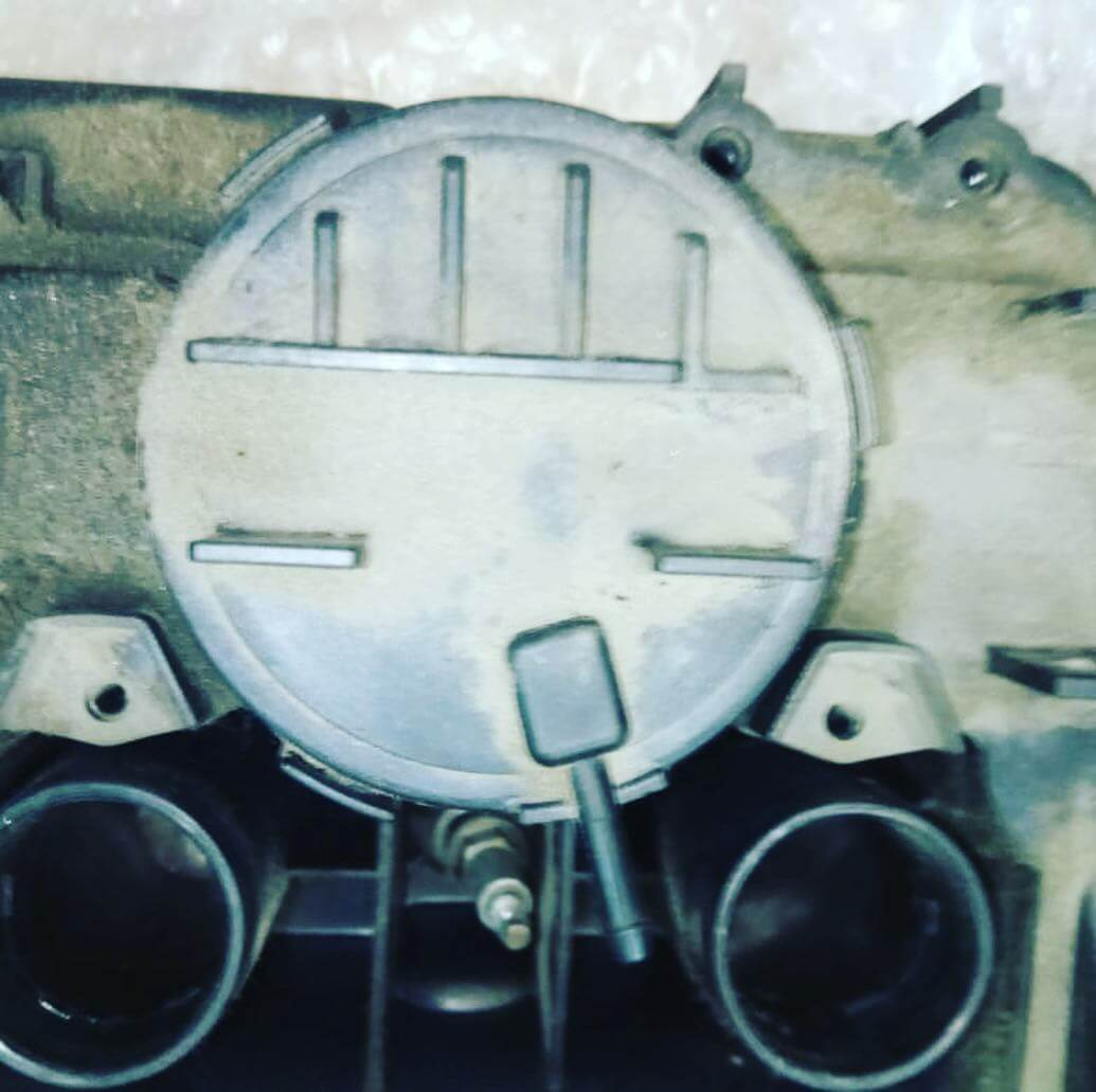 сильная закоксованность двигателя BMW