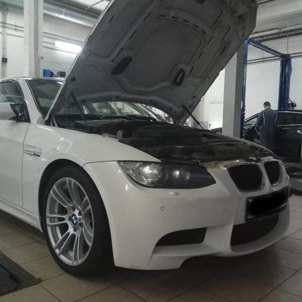 диагностика BMW M3 E92