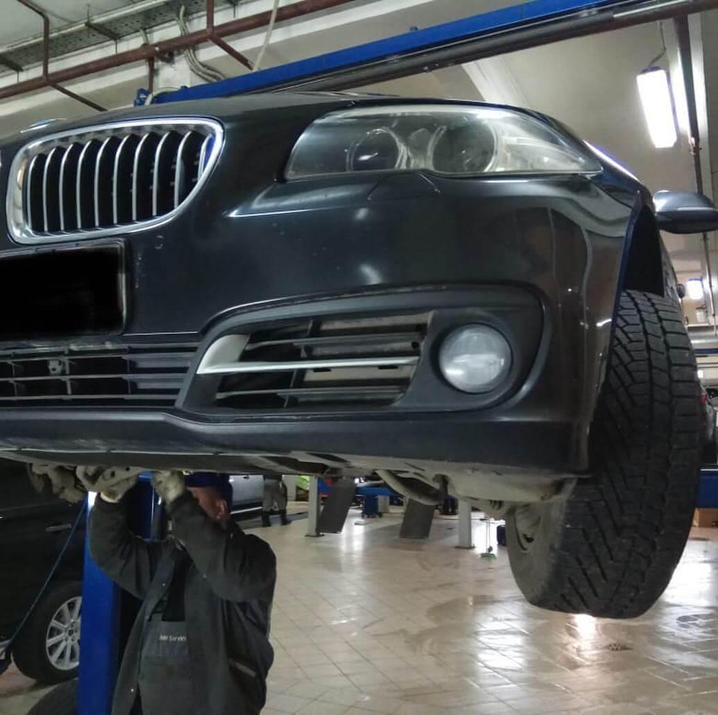диагностика BMW F10