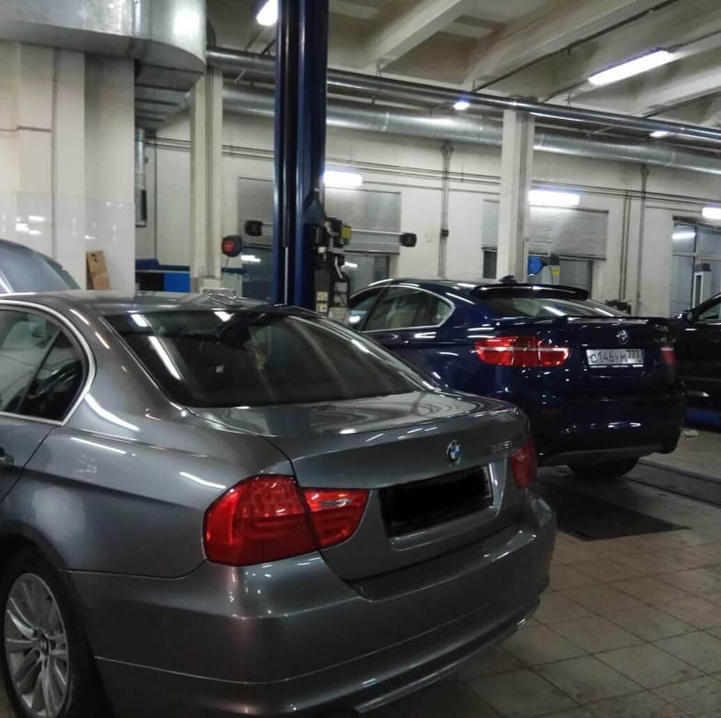 Течь из под клапанной крышки и корпуса масляного фильтра у BMW Е90
