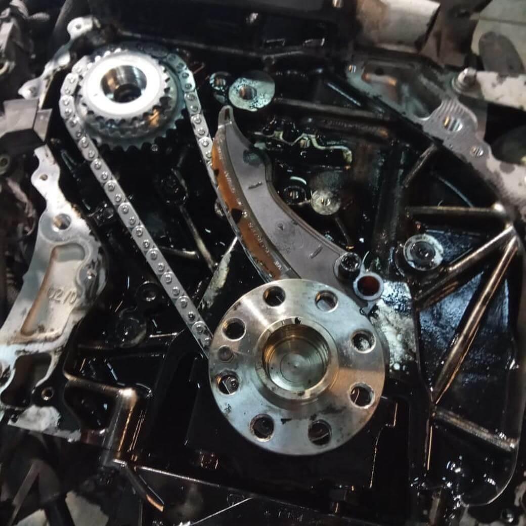 цепь ГРМ в двигателе БМВ N57
