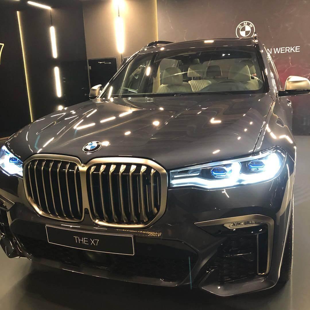 презентация нового BMW X7