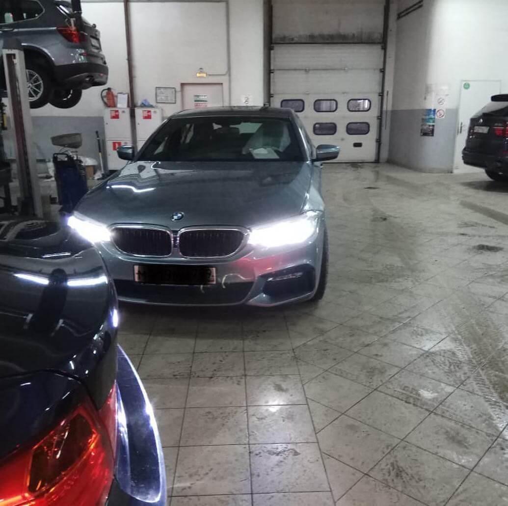 качественное обслуживание BMW в период гарантии