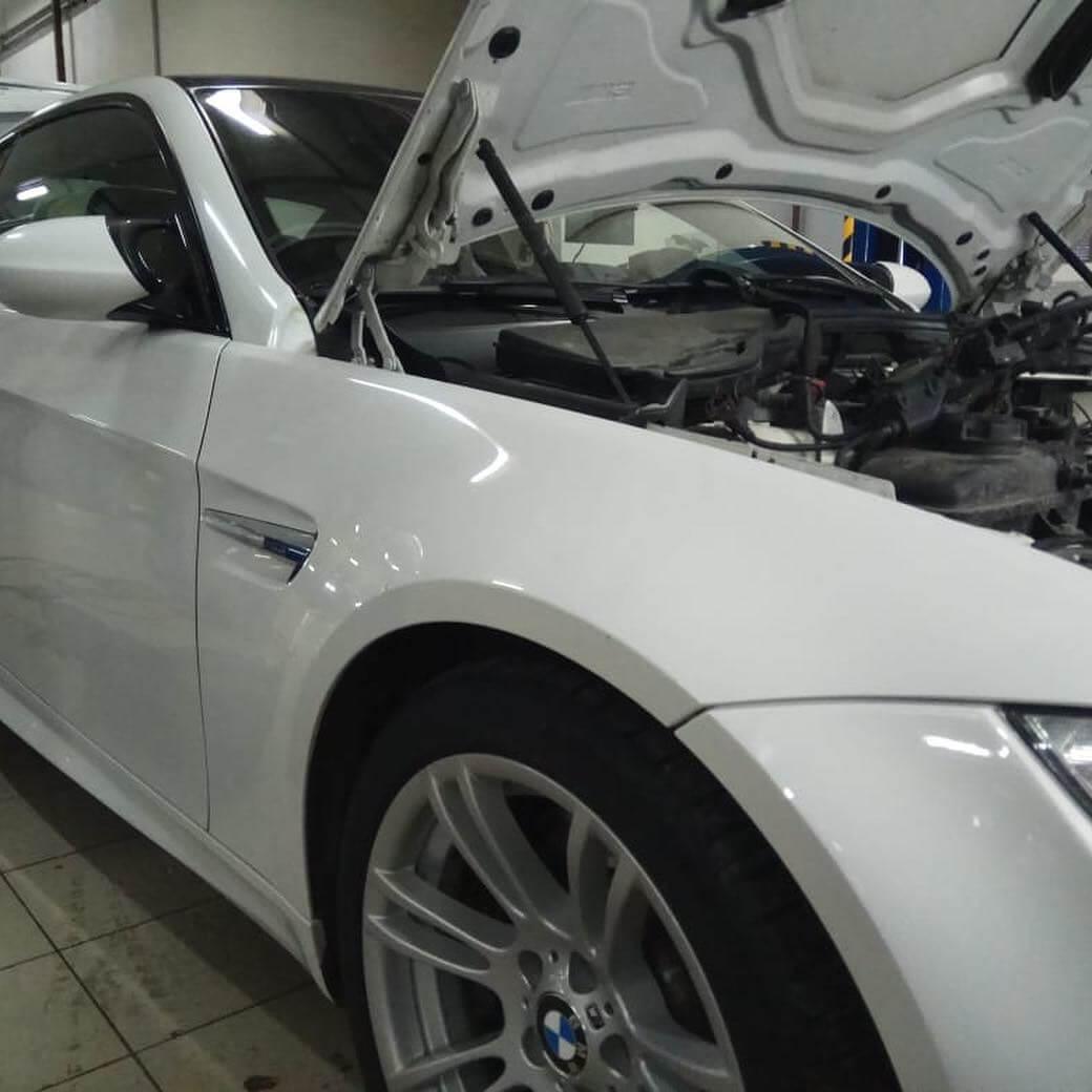 BMW M3 в кузове E92 с двигателем S65