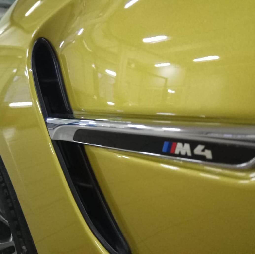 замена подушек безопасности на BMW M4 F32