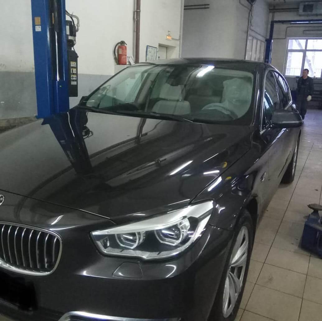замена пневморессоры на BMW