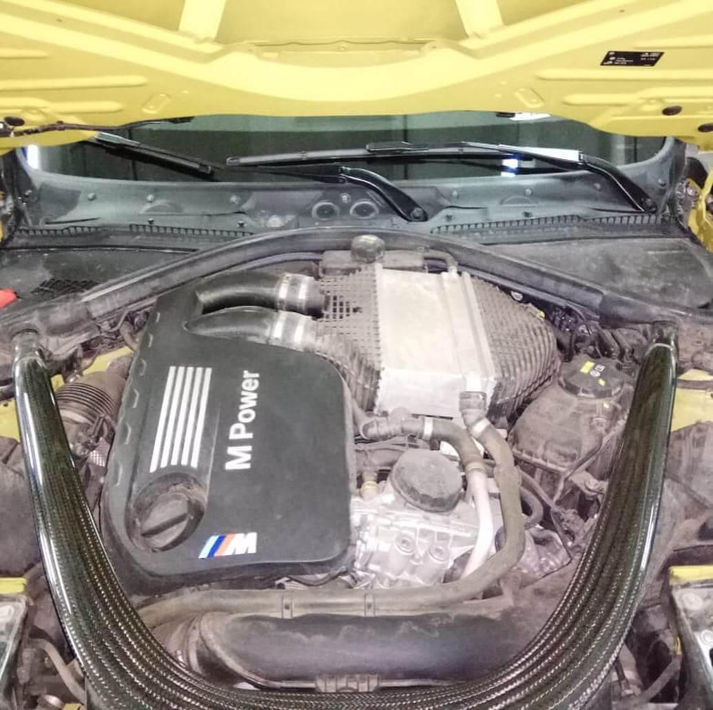 ремонт ходовой BMW M4 F32