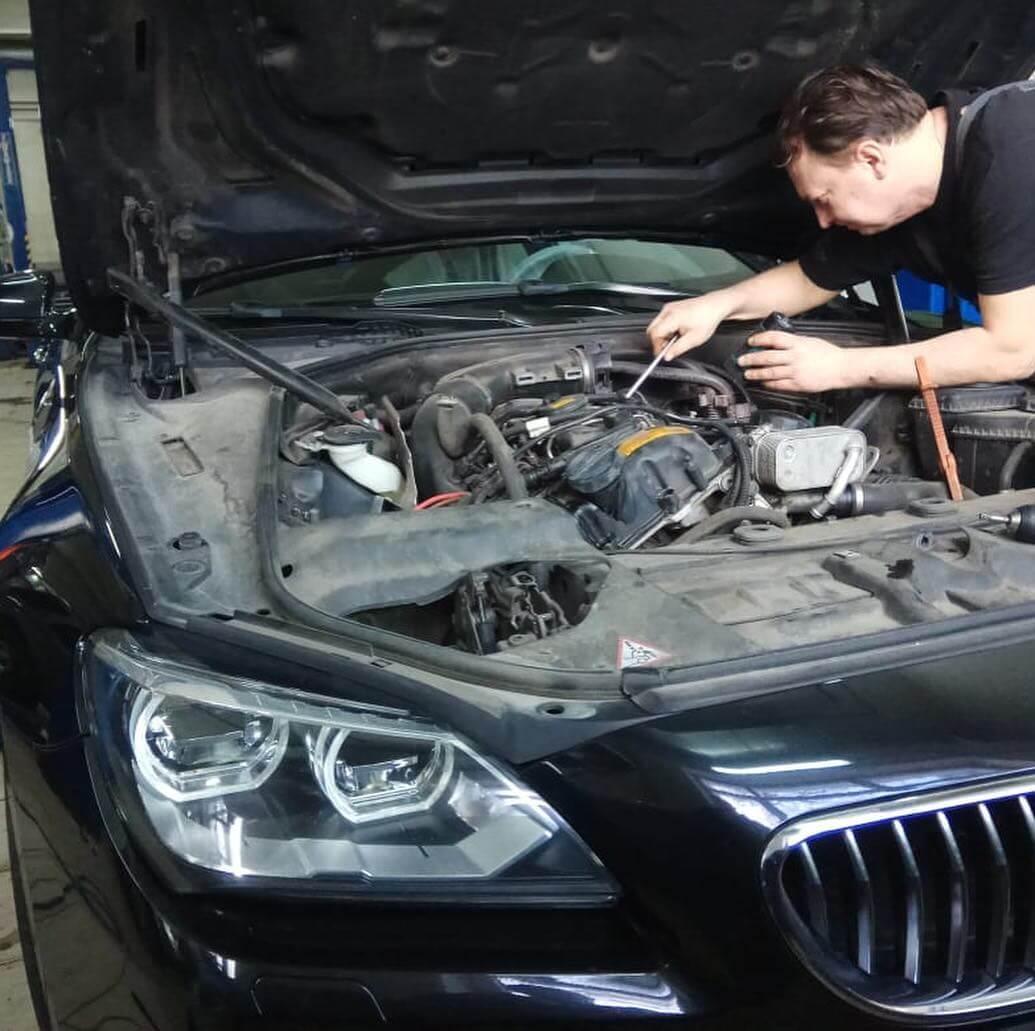 достаточное количество недочетов BMW