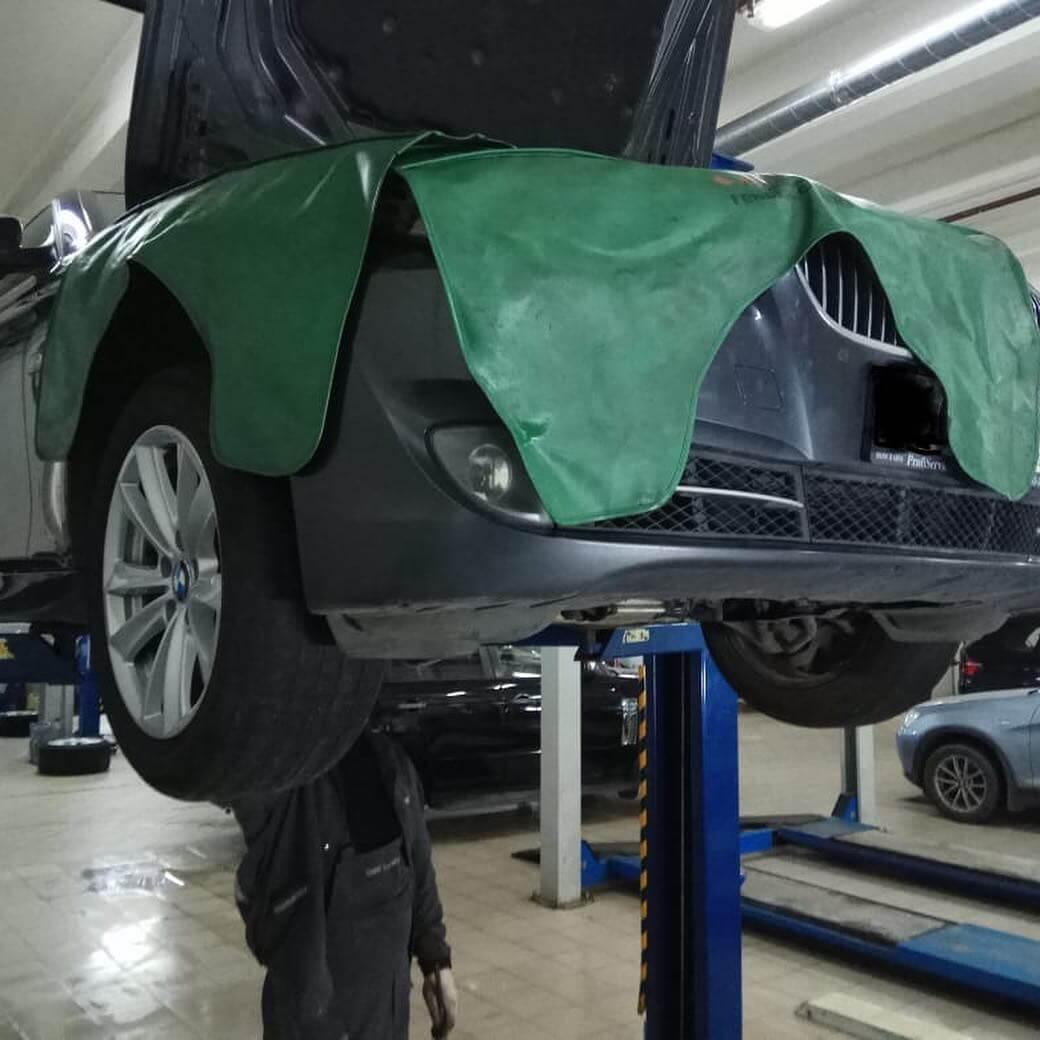 замена согласно технологии ремонта BMW маслоподающего трубопровода