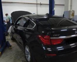 Чрезмерный расход масла у BMW GT в кузове F07