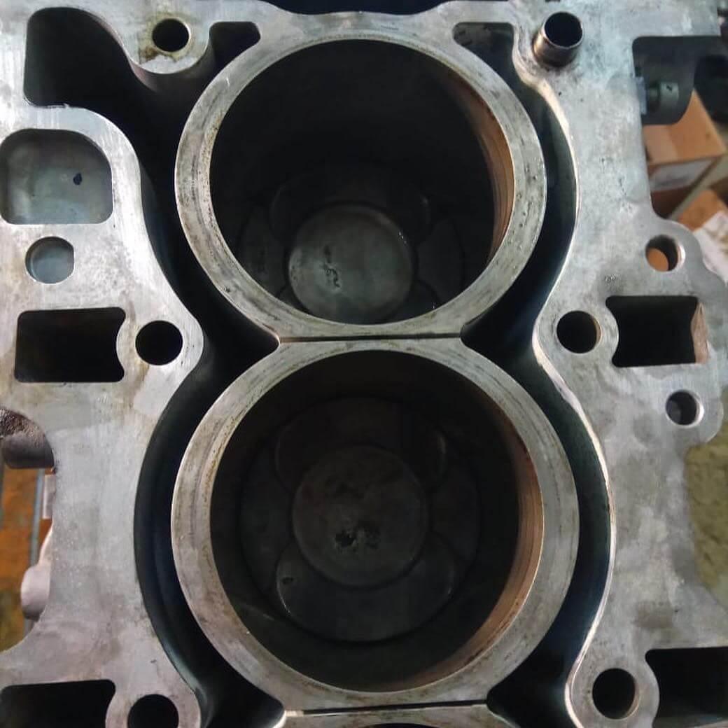 износ цилиндров двигателя N55B30