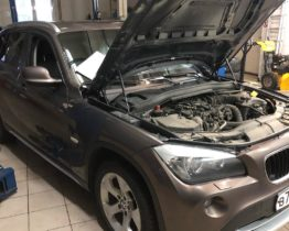 Замена приводного ремня на BMW X1 в ПрофиСевисКлубе