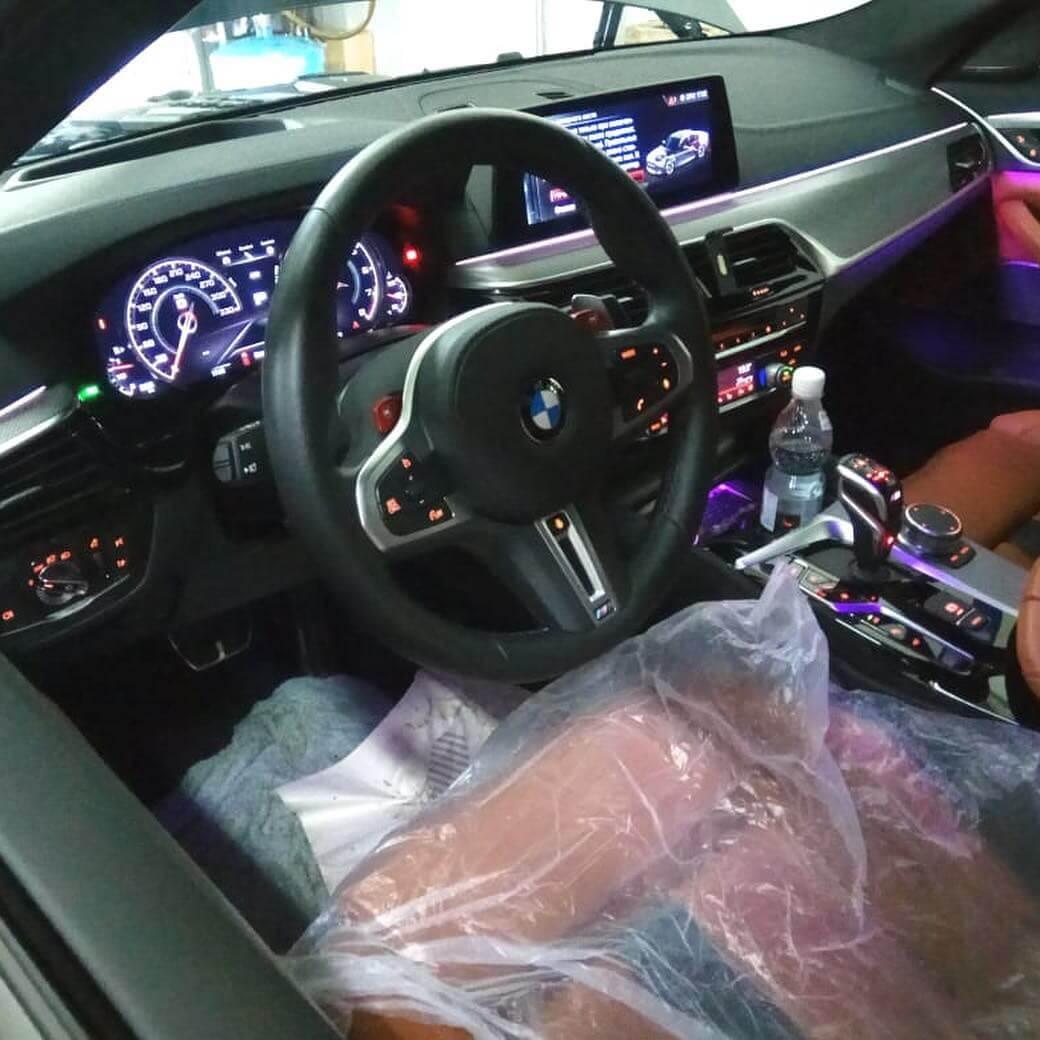 техническое обслуживание BMW M5 F90