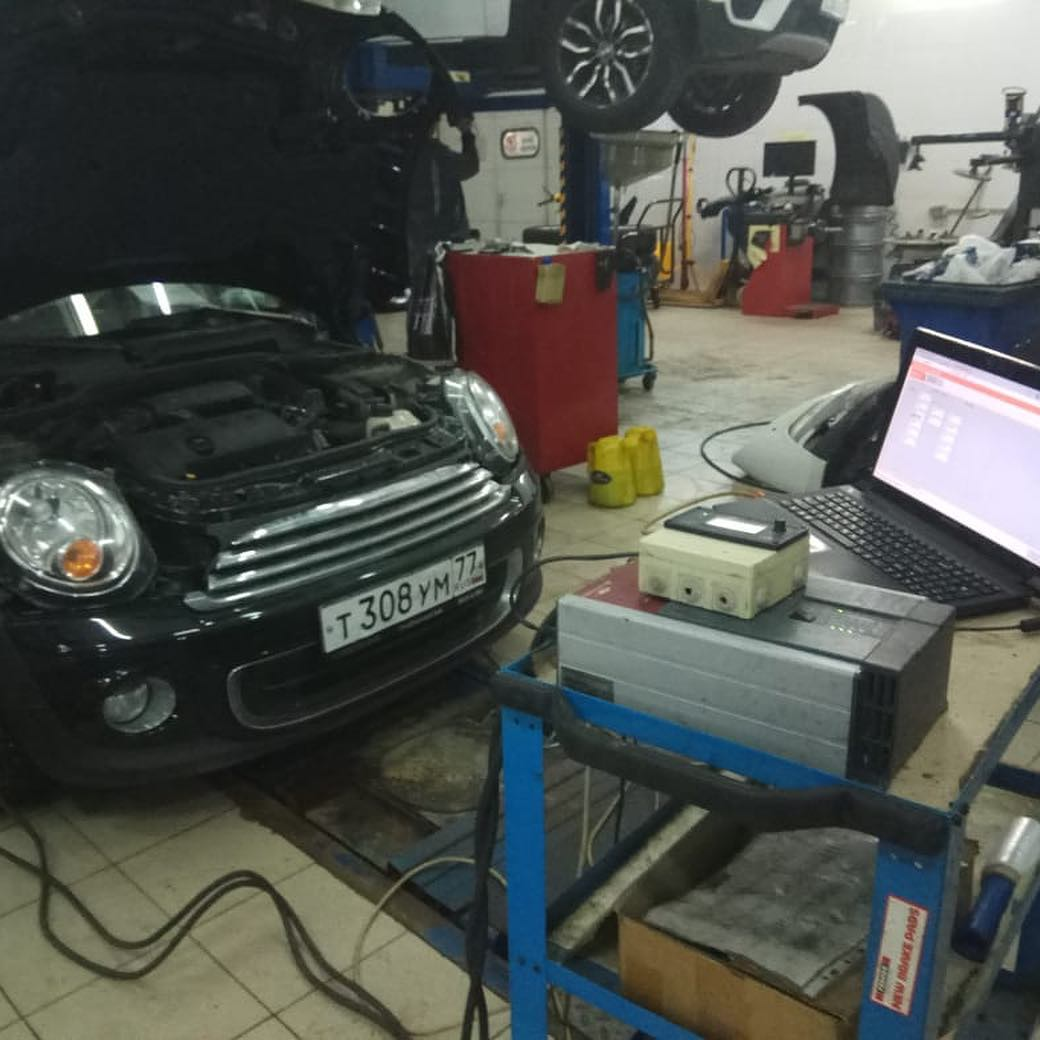 диагностика и изменение программного обеспечения Mini One R56