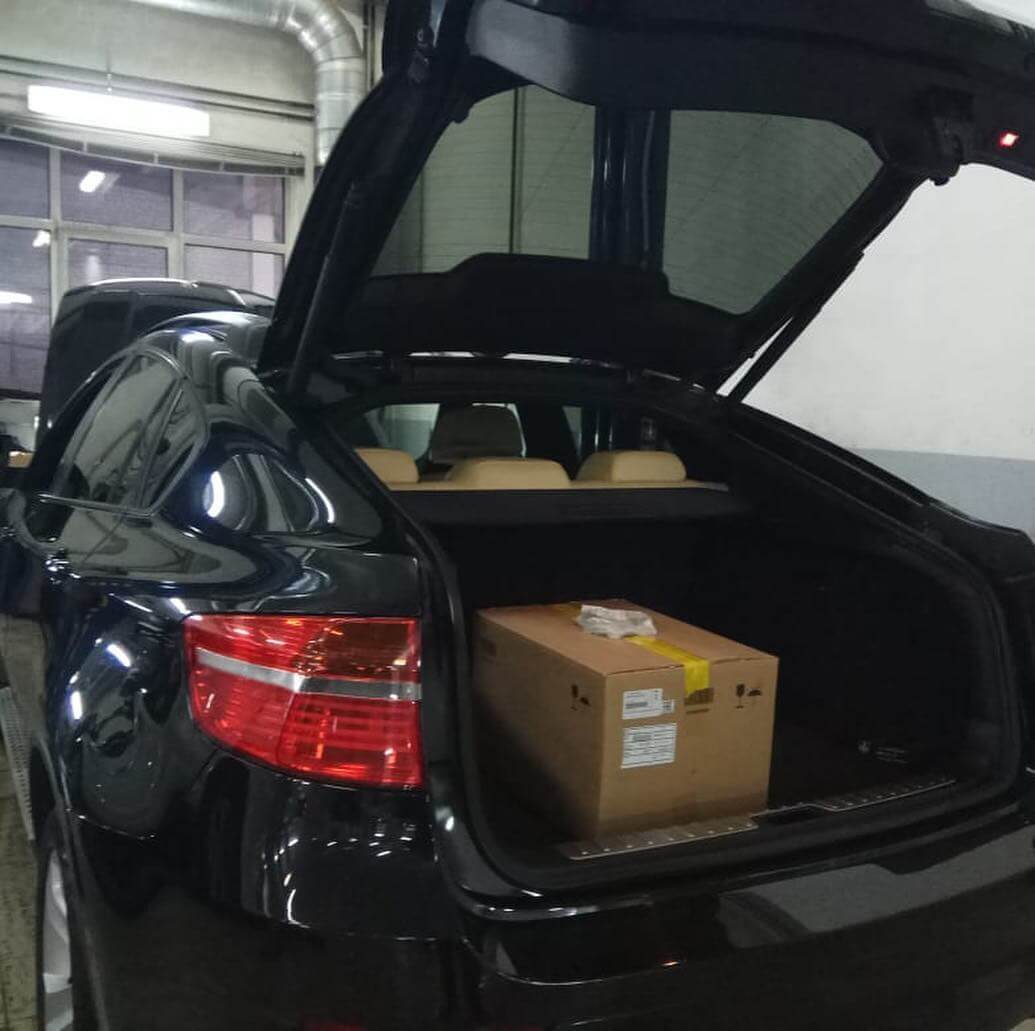 замена вакуумного усилителя тормозов согласно технологии ремонта BMW