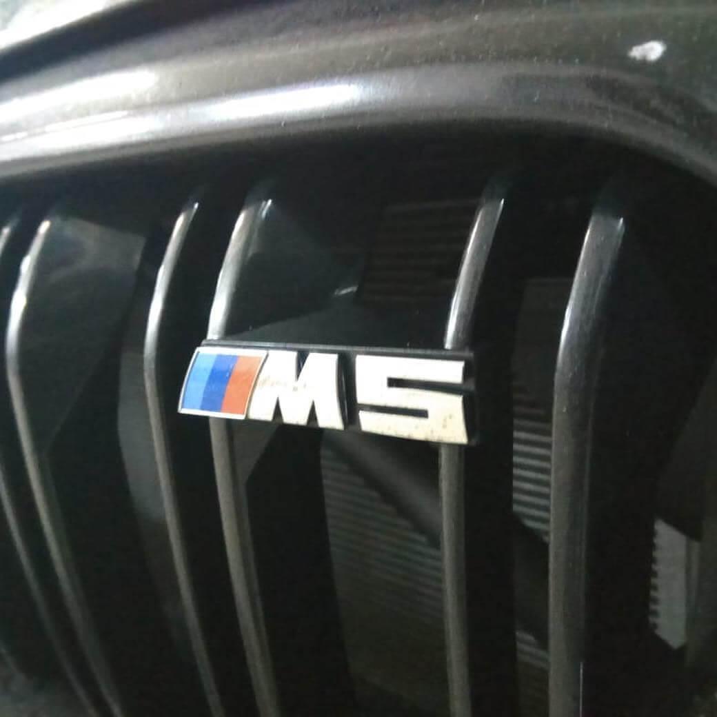 замена масла и фильтров на BMW M5 в кузове F90