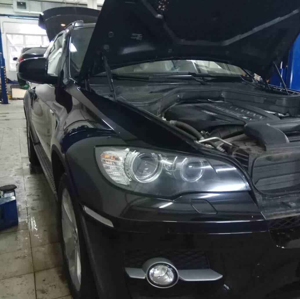 замена вакуумного усилителя тормозов BMW Х6 Е71