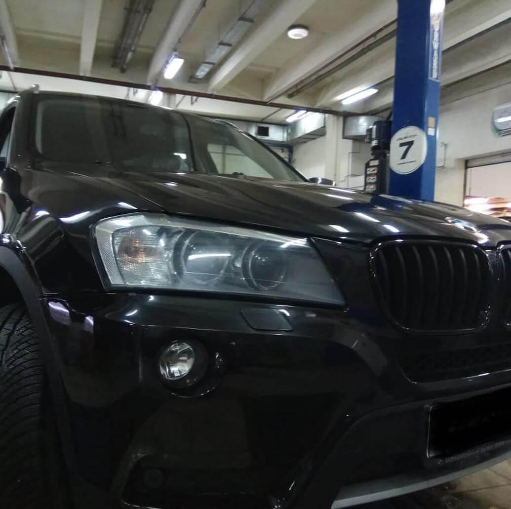 BMW X3 в кузове F25