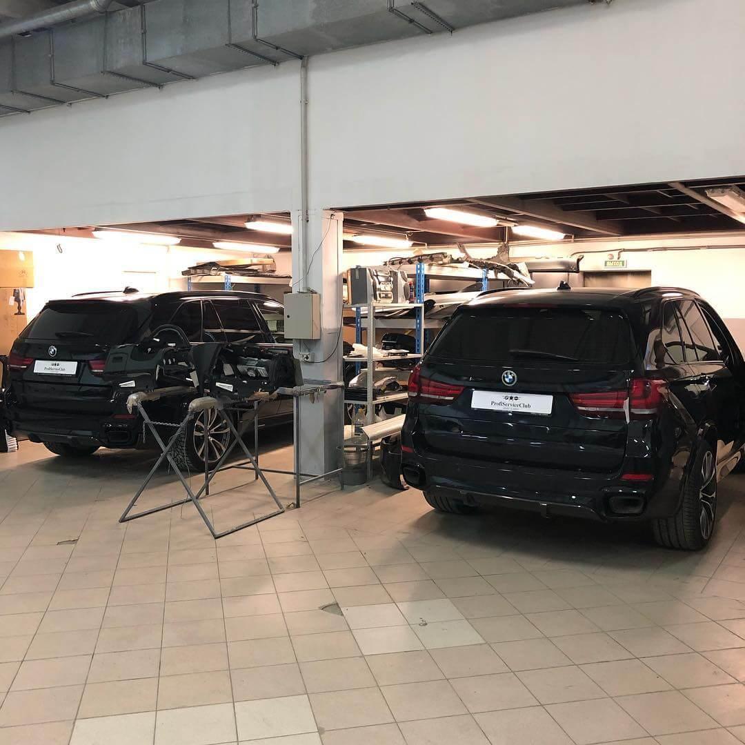 Замена элементов салона на BMW X5