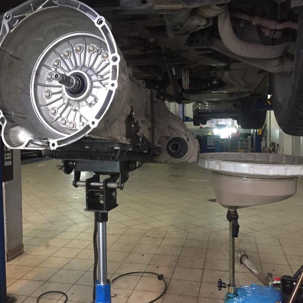 Сборка АКПП BMW X6 после ремонта