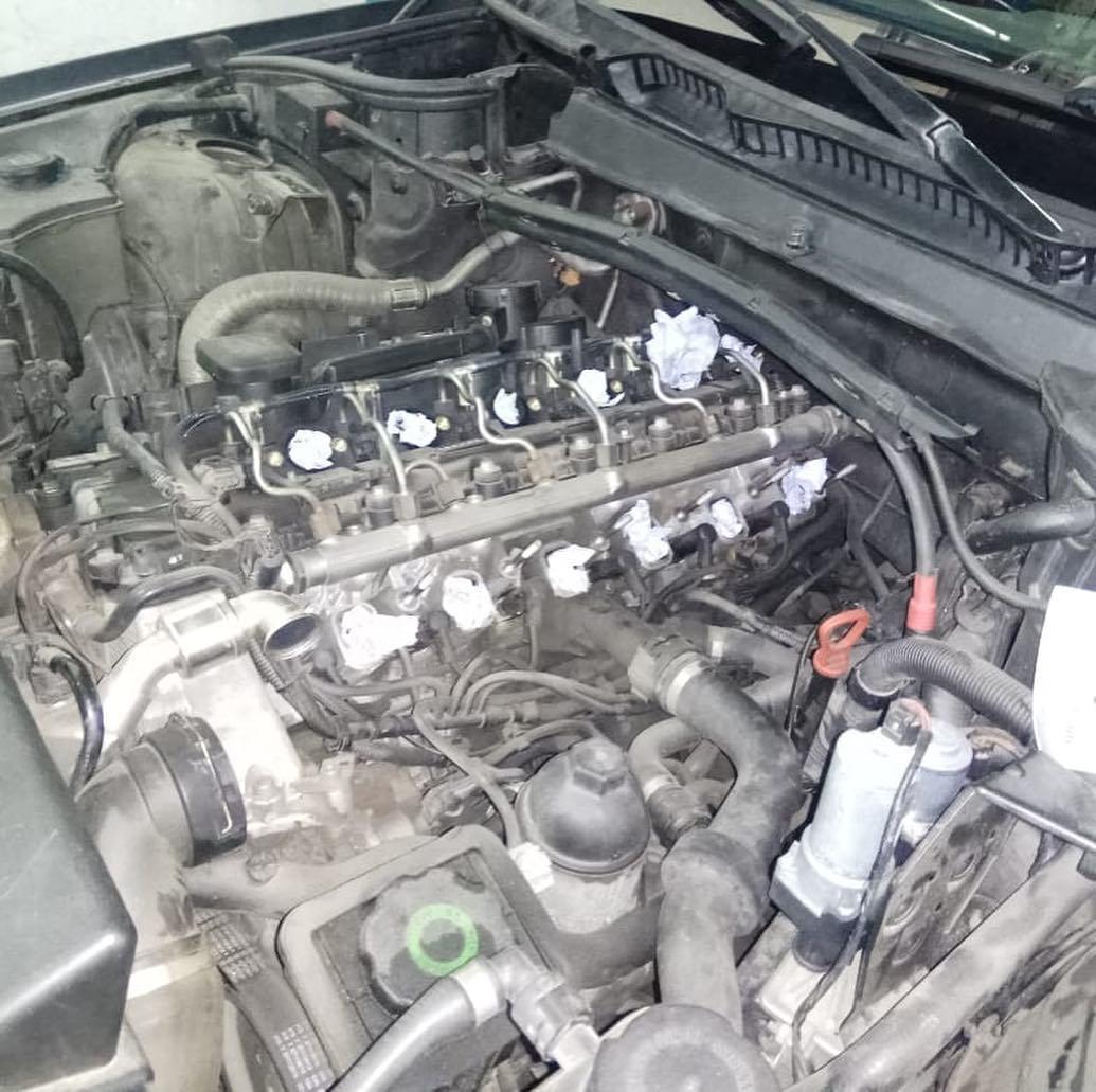Устранение проблемы с запуском на холодную дизельных двигателей M57