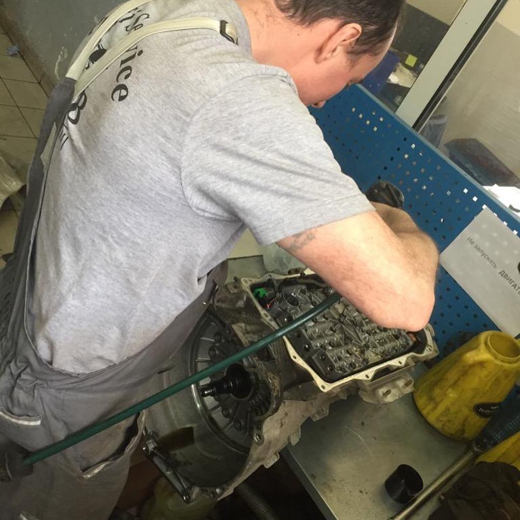 Ремонтные работы по АКПП BMW X6