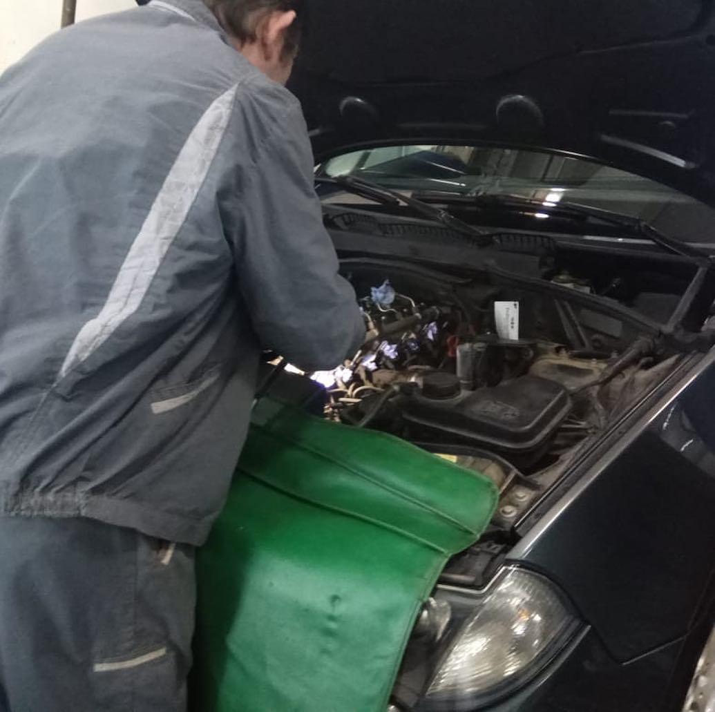 Замена свечей накаливания на BMW X3