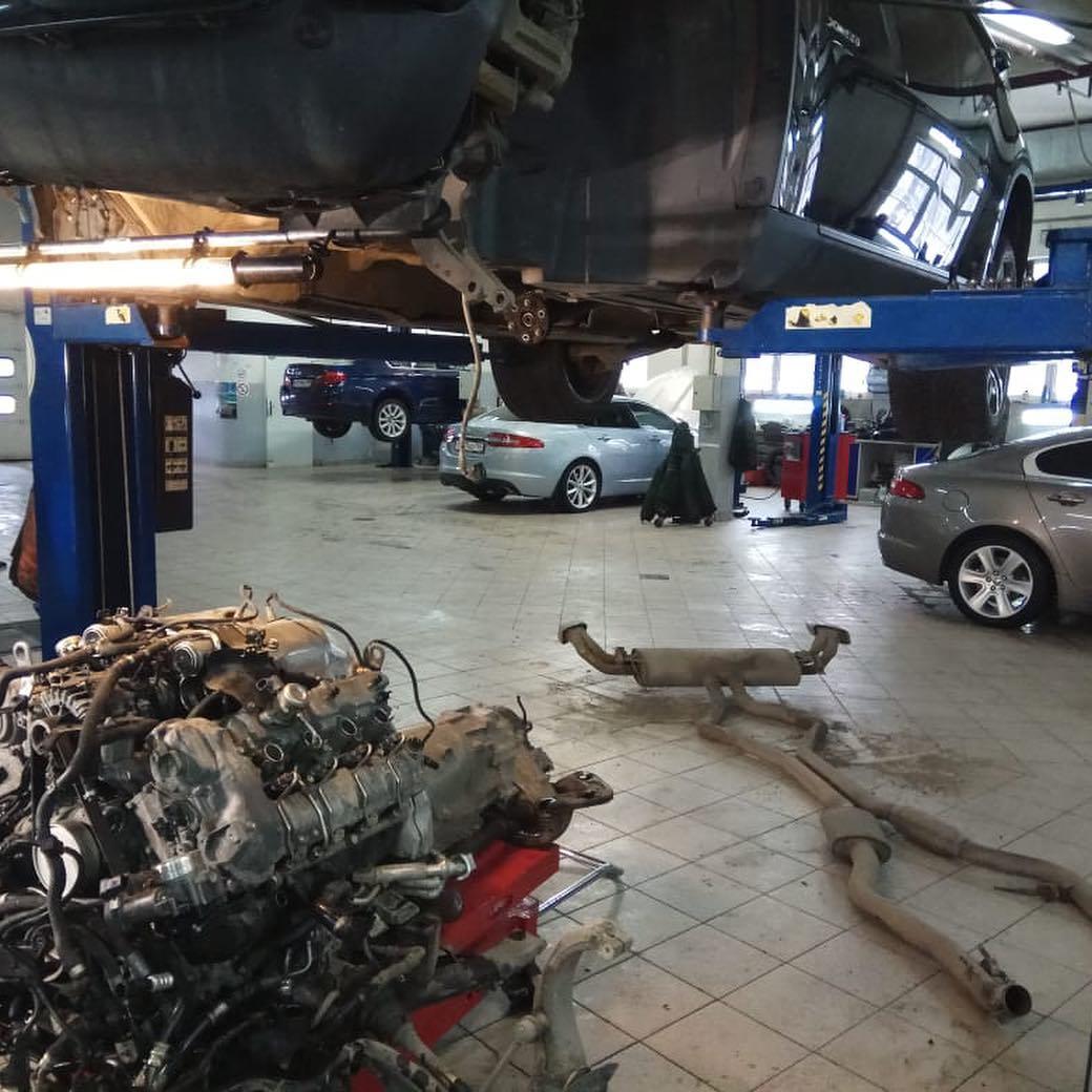Демонтаж двигателя N63