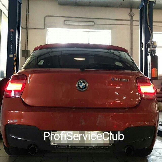 Техническое обслуживание BMW M135