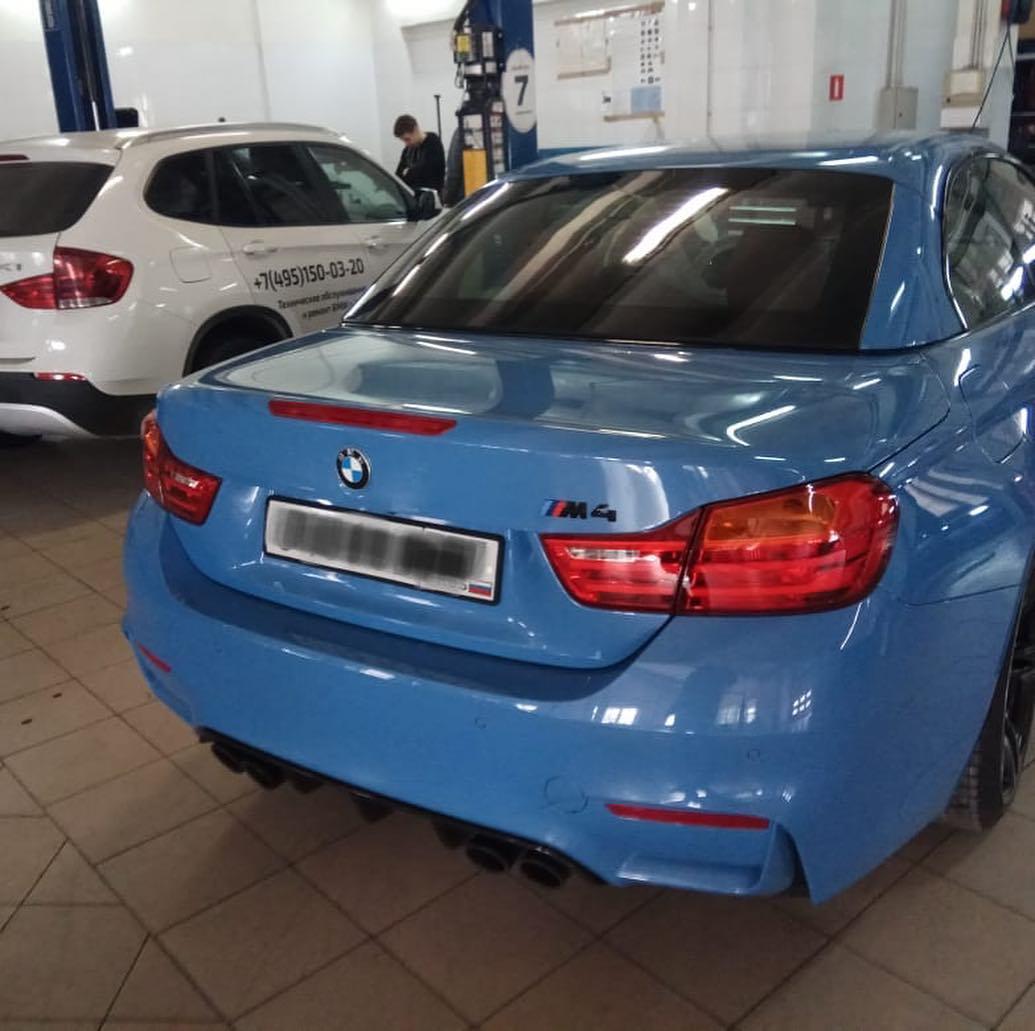 Ремонт BMW M4 F83