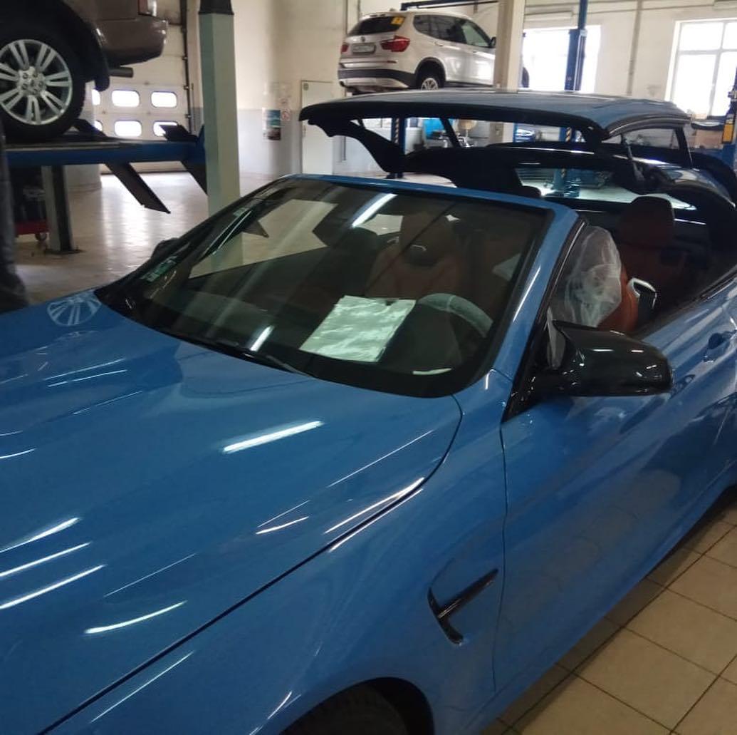 Замена уплотнителя на BMW M4