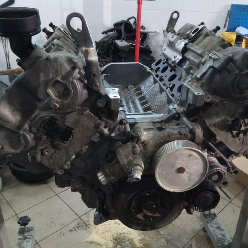Разборка мотора N63