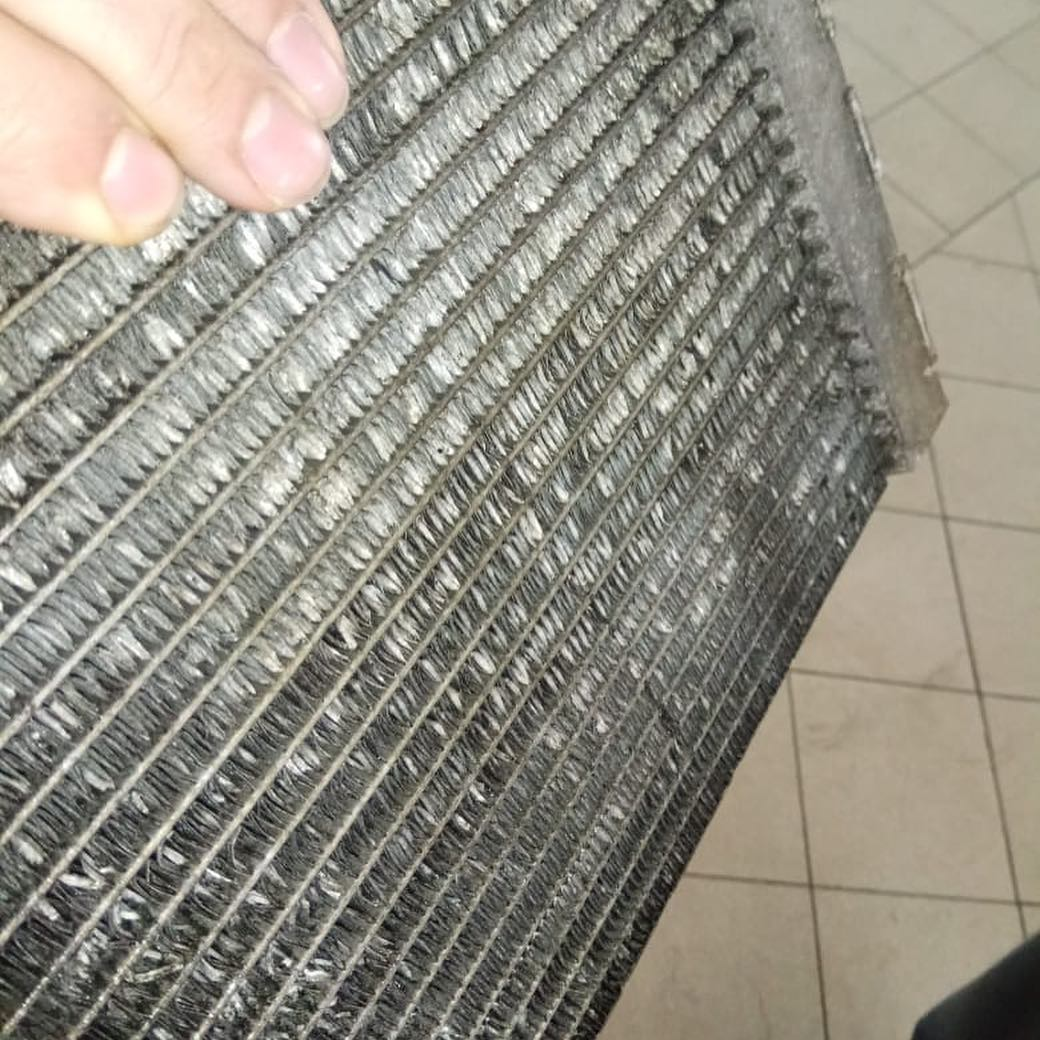 Промывка радиатора по регламенту BMW