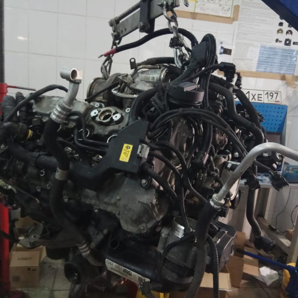 Сборка мотора N63 BMW X6
