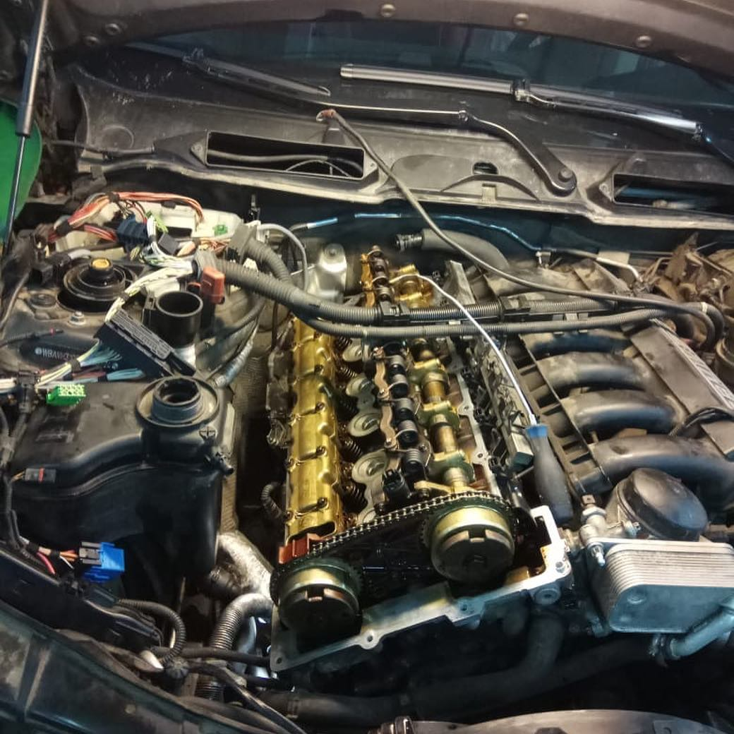 Диагностика жора масла двигателем N52K