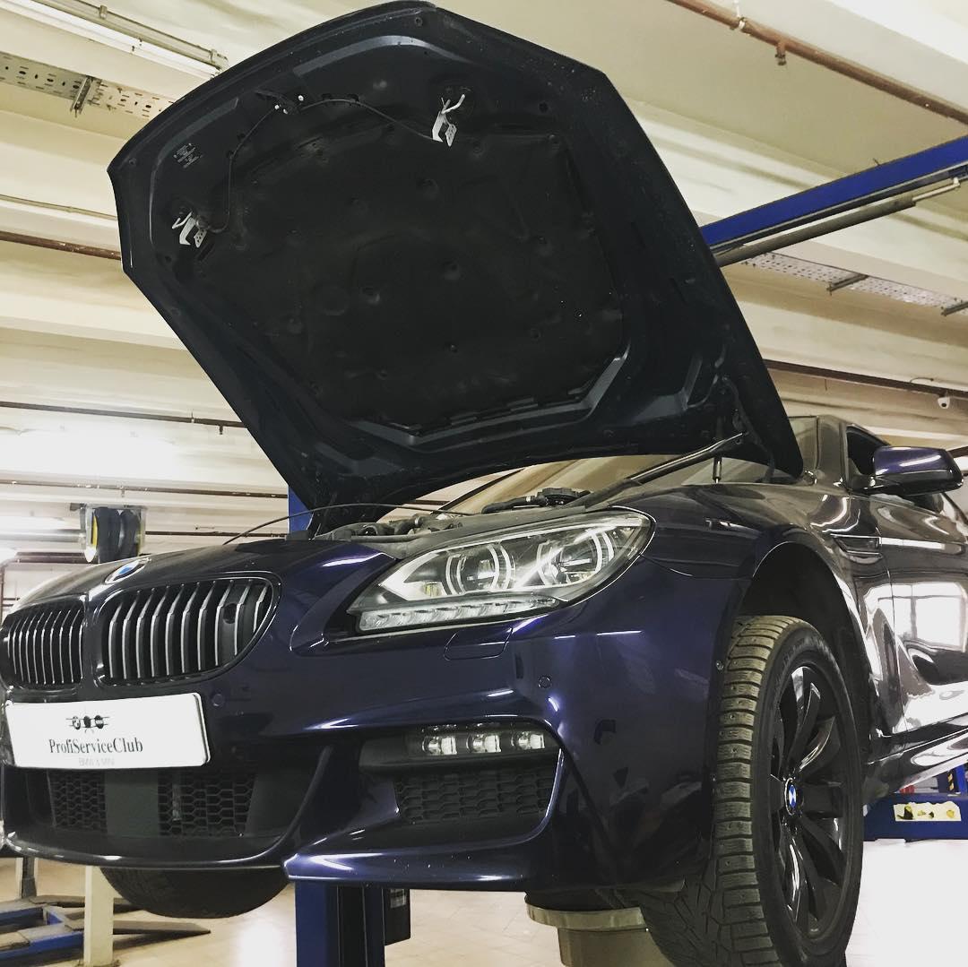 Техническое обслуживание BMW 650i