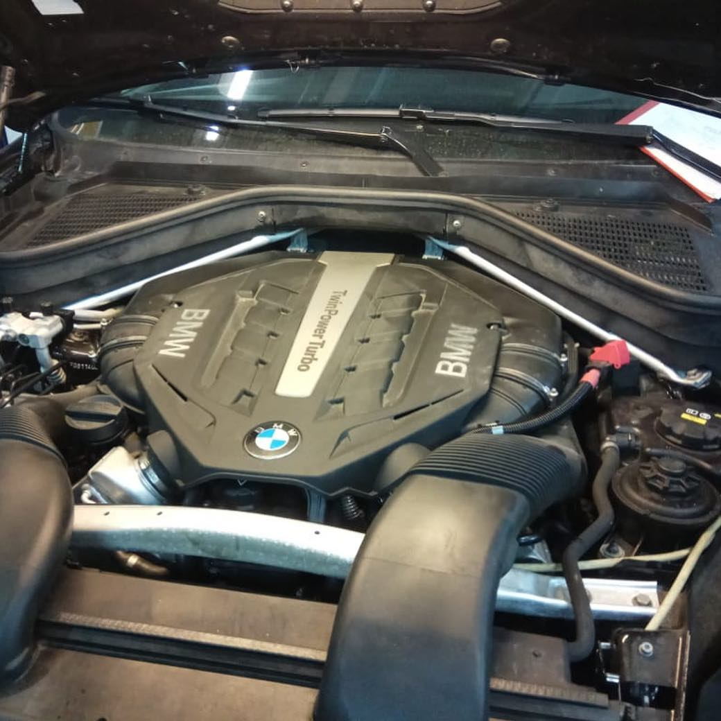 Запуск мотора N63 на BMW X6