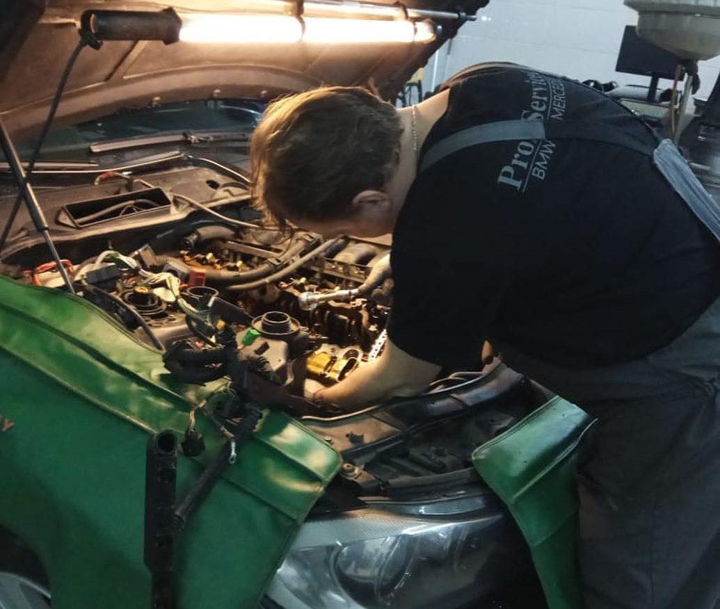 Ремонт двигателя на BMW e90