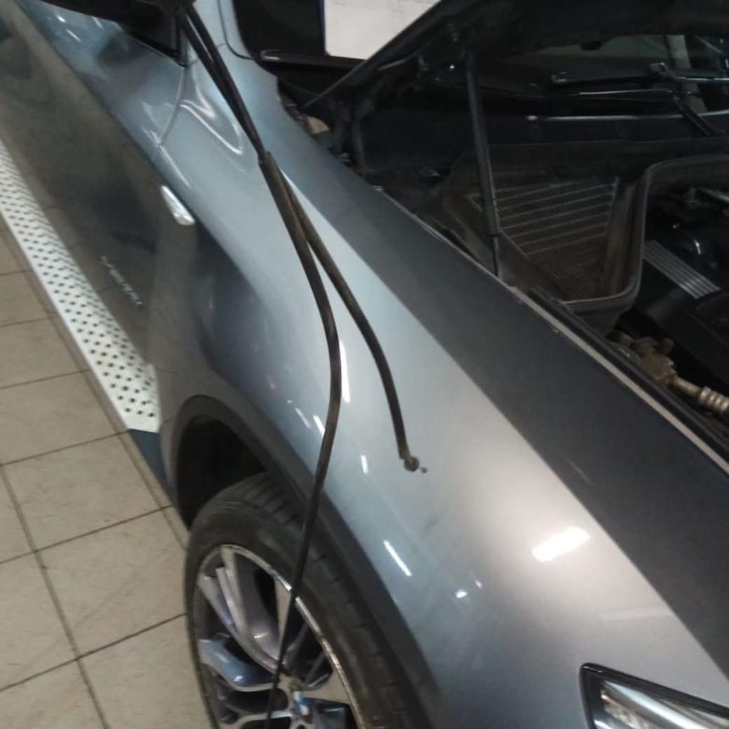 Замена троса капота на BMW X6