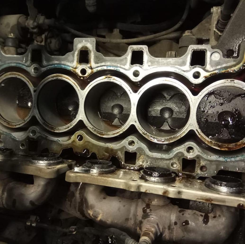 Ремонт двигателя N52K без замены поршневой группы