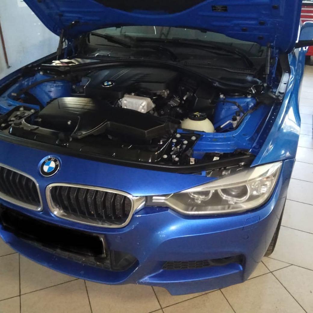 Разгон лошадиных сил на BMW 3 f30