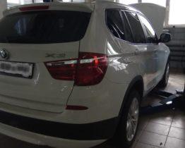 утсранение течи антифриза на BMW X3