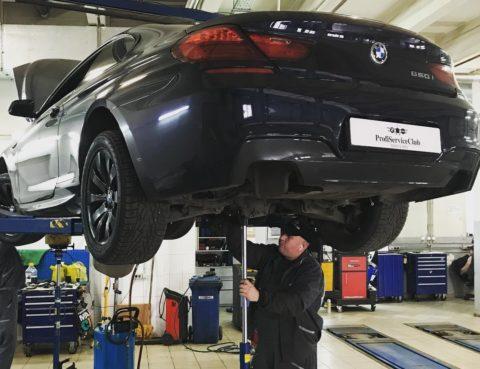 ТО BMW 6