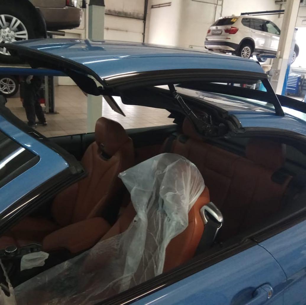 Обслуживание кабриолетов BMW
