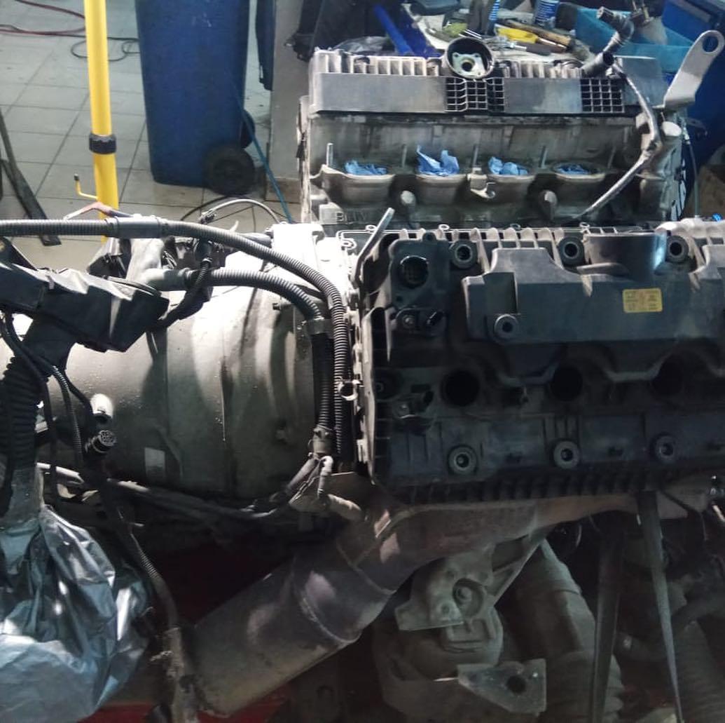Двигатель BMW E70